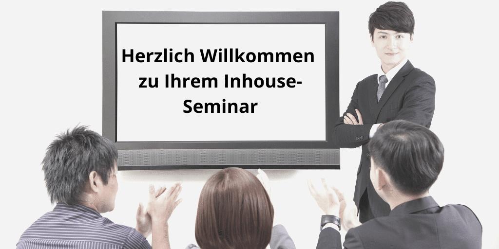 Inhouse Seminare und -Ausbildungen – passgenaue Inhalte effektiv vermittelt